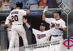 2017 Topps Now #248 Minnesota Twins Front