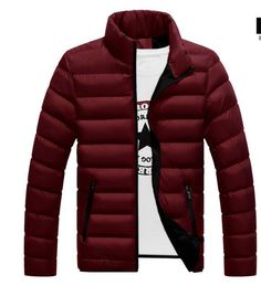 40df545ceb5c3 Brand Winter Men Jacket 2018 Casual Hot Sale High Quality Soild Colorliligla