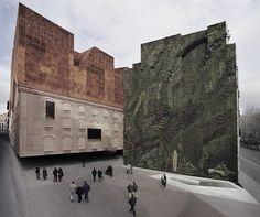 CAIXA FORUM ARCHITECTURE by HERZOG & DE MEURON IN