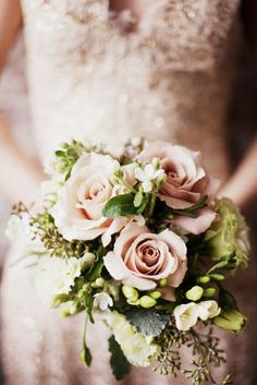 The roses look porcelain! So beautiful! Photography by judypak.com and carolinefrostphotography.com, Floral Design by harlemflowers.com