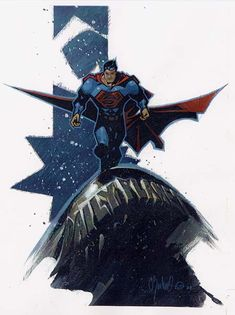 Superman by Chris Bachalo