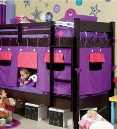 New Bunk Bed Tent & Canopy for Boys and Girls / 4 Models to Choose From | eBay