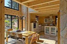 Wunderbar Modernes Fullwood Holzhaus Am Bächle