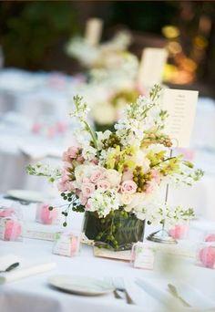 Pastel #pink wedding decor (Photo by Joanna Tano)