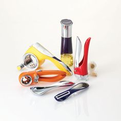Savora's colorful collection ($9.99-$39.99) boasts essential kitchen gadgets galore.