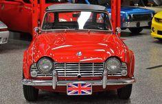 1964 Triumph TR-4 roadster.