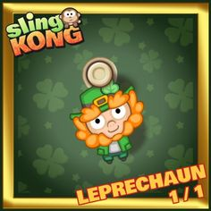 My kong (leprechaun 1/1) on game Sling Kong 💖 #SlingKong