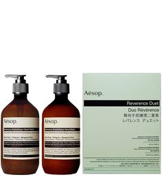 Reverence Aromatique Hand Care Duo, Aesop. Shop more bodycare products from the Aesop collection online at Liberty.co.uk