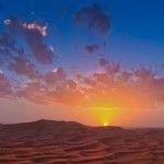 Sonnenuntergang in der Sahara (Marokko) © Lukas Gawenda