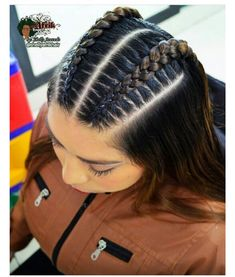 Easy Hairstyles For Long Hair, Braids For Long Hair, Cute Hairstyles, Braided Hairstyles, Medium Hair Styles, Natural Hair Styles, Long Hair Styles, Baddie Hairstyles, Sporty Hairstyles
