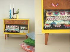 one sheepish girl: The Blush List - Snow Day LOVE LOVE THIS FOR A BROKEN Dresser storage blankets.
