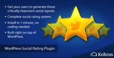 Deals WordPress Social Rating Plugin in each seller & make purchase online for cheap. Choose the best price and best promotion as you thing Secure Checkout you can trust Buy best