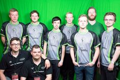 """our new CS:GO line-up: standing from the left to the right: Gido """"CYTARO"""",  Chris """"""""Chr1Zz"""" , Nicola """"Niko"""" , Arne """"FMZ""""  en Vincent """"V1N,"""""""