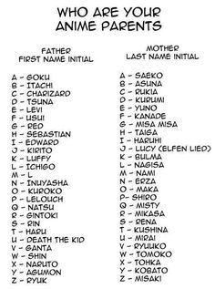 OH MY GOSH YES! My father is ichigo and my mother is nami. Those are some of my FAVORITE characters. :D
