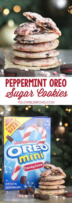 Peppermint Sugar Cookies | A perfect Christmas cookie!