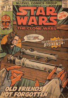 Vintage Cartoon, Vintage Comics, Vintage Posters, Star Wars Pictures, Star Wars Images, Culture Pop, Geek Culture, Disfraz Star Wars, Arte Do Harry Potter
