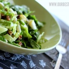 Pear & Blue Cheese Salad with Candied Pecans Recipe - ZipList