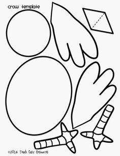 Fall Bulletin Board Idea and Free Crow Template - Tulin Aci Preschool Bible Activities, Fall Preschool, Preschool Crafts, Coloring For Kids, Coloring Pages, Bible Crafts, Paper Crafts, Seasonal Bulletin Boards, Fall Crafts For Kids