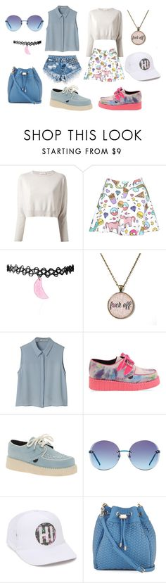 """Unicorns"" by lovrek-ema ❤ liked on Polyvore featuring Runwaydreamz, Brunello Cucinelli, Underground, Gucci, Rip Curl and Neiman Marcus"