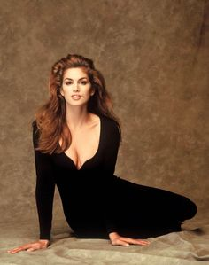 Cindy Crawford - Photoshoot Tight Black Outfit 2522 x 3200 ( 90s Models, Female Models, Fashion Models, Naomi Campbell, Cindy Crawford Photo, Original Supermodels, Magazine Mode, 80s And 90s Fashion, Famous Models
