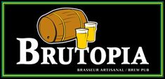 Brutopia brew pub is the best bar on Montreal's world renowned Crescent street. From Live Bands and Music to Freshly brewed ale, Brutopia is the place to Brew Haha, Beer Snob, Live Band, Brew Pub, Best Beer, Cool Bars, Ipa, Music Bands, Puns
