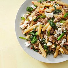 penne with sausage broccoli