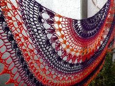 A Little of This a Little of That Shawl: free #crochet pattern