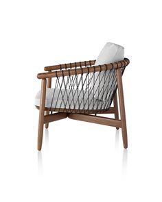 eoss / crosshatch chair for herman miller #AccentChair #LoungeChair #ChairMadera