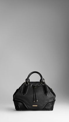 I love this so much! Burberry - SMALL METALLIC FRAME TOTE BAG