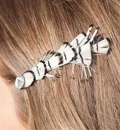People will think you have a moth in your hair