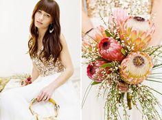 Golden Gypsy Wedding Inspiration