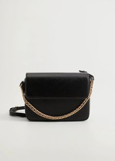 Essential prices de Mulher 2020 | Mango Portugal Pebbled Leather, Mango, Shopping Bag, Essentials, Chain, Women, Portugal, Fashion, Shoes