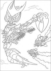 lego atlantis coloring pages