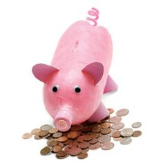 Recycled Piggy Bank