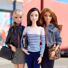 Squad goals. #barbie #barbiestyle