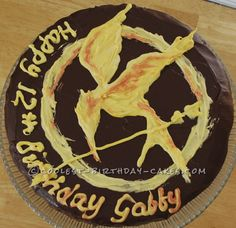 Coolest Hunger Games Suprise Birthday Cake... This website is the Pinterest of birthday cake ideas