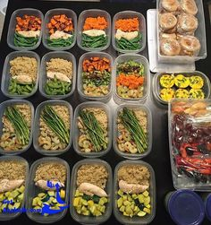 It's food prep time! Cooking in bulk and prepping your meals is the easiest approach to staying on top of your diet.