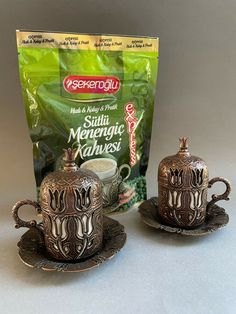 Coffee Gift Sets, Coffee Gifts, Copper Cups, Cup And Saucer Set, Pistachio, Pattern, Ebay, Pistachios, Patterns