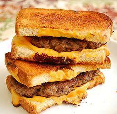 Grilled Cheese Hamburger