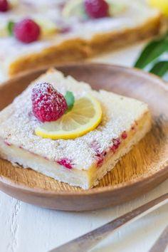 Raspberry Lemon Bars by Julie Gransee