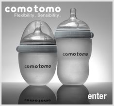 comotomo baby bottles..I want to try this brand with my Wyatt