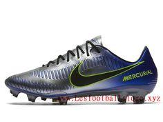 buy popular 378d2 cd7c4 Nike Mercurial Vapor Xi Neymar Fg Chaussure de Football Pas Cher Pour Homme  Bleu Noir Prix