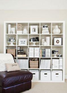 KALLAX open kast via Boxwood Clippings Blog   IKEArepint IKEAnederland boekenkast vakkenkast opberger woonkamer