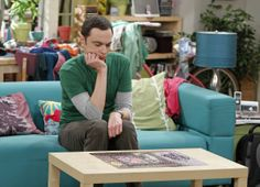 """Sheldon in """"The Scavenger Vortex"""" Episode 3 of Season 7 When the entire gang competes in a scavenger hunt designed by Raj, it brings out the best – and worst – in everyone, on THE BIG BANG THEORY, Thursday, Oct. 3 (8:00 – 8:31 PM, ET/PT) on the CBS Television Network. Pictured: Jim Parsons Photo: Sonja Flemming/CBS © 2013 CBS Broadcasting, Inc. All Rights Reserved."""