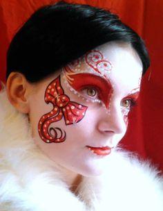 24304ecd3b Dipinti Del Viso, Feste Di Natale, Costumi Di Fantasia, Dipingere Idee, Body