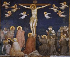 Giotto Di Bondone Paintings | crucifixion click to see full size image see more details