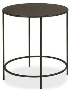 "Room & board slim round table 25"""