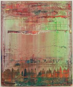 Gerhard Richter Abstract Painting (908-9), 2009 Oil on wood 60 x 50 cm