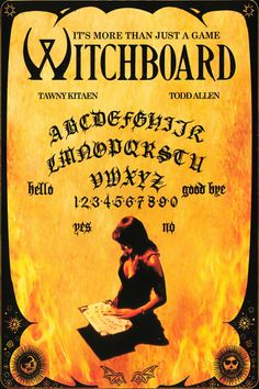 Witchboard Horror Movie