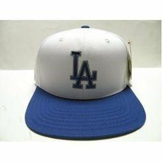 add7f2e6478 Los Angeles Dodgers Retro Logo Snapback Cap Hat 2 Tone White Blue .  10.04.  Brand
